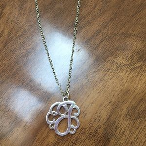 Jewelry - J initial necklace